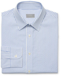 Club Monaco Slim Fit Striped Dress Shirt