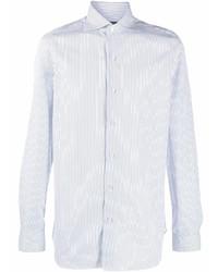 Finamore 1925 Napoli Striped Button Down Shirt