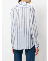 Shirtaporter Striped Fitted Shirt