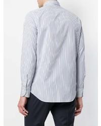 Finamore 1925 Napoli Striped Long Sleeve Shirt