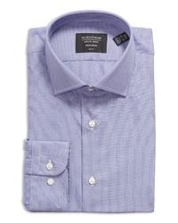Nordstrom Trim Fit Pinstripe Non Iron Dress Shirt