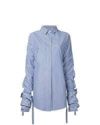 Strateas Carlucci Veil Macro Striped Shirt