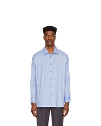 Andersson Bell Blue And White Milano Shirt