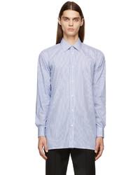 Maison Margiela Blue White Stripe Shirt