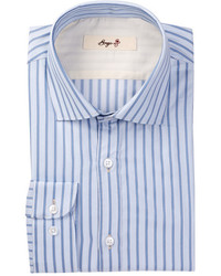 Borgo 28 Modern Fit Striped Long Sleeve Dress Shirt