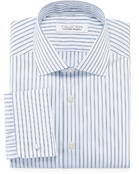 Collection collection by michl strahan cotton stretch dress shirt with french cuffs medium 717427