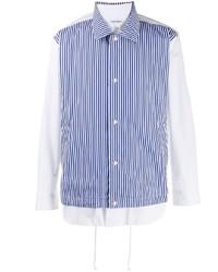 Comme Des Garcons SHIRT Comme Des Garons Shirt Contrast Layered Shirt
