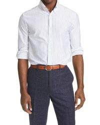 Brunello Cucinelli Slim Fit Pinstripe Shirt