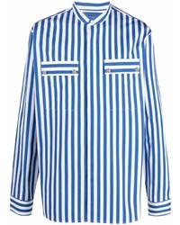 Balmain Striped Cotton Shirt
