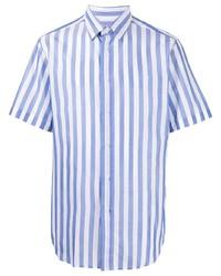 Brioni Short Sleeved Striped Shirt
