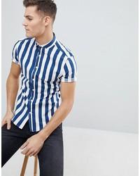 6f7b5c55bb Another Influence Deckchair Stripe Boxy Short Sleeve Shirt $22 $44 · ASOS  DESIGN Skinny Stripe Shirt In Blue