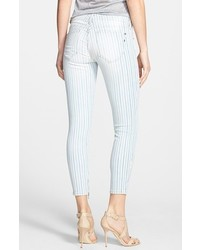 Genetic Denim Genetic Alina Stripe Skinny Ankle Jeans