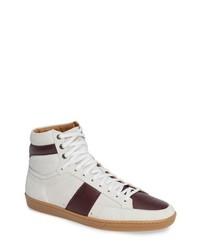 Saint Laurent Sl10h Signature Court Classic High Top Sneaker