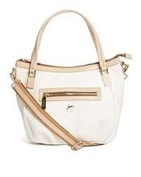 Aubrey Anglesea White Handheld Bag