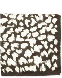 Animal print pocket square blackwhite medium 252706