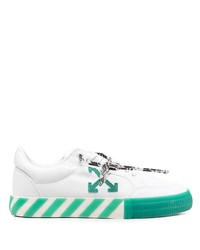 Off-White Low Top Vulcanised Sneakers