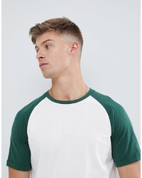 Produkt T Shirt With Colour Raglan Sleeve