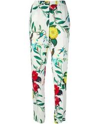Armani Jeans Floral Print Trousers