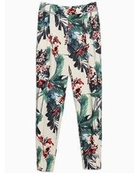 Choies Floral Print Pants