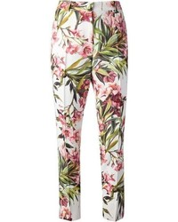 Dolce gabbana floral print trouser medium 65346