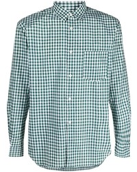 Comme Des Garcons SHIRT Comme Des Garons Shirt Check Print Cotton Shirt