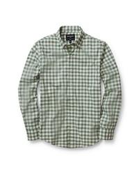 Bonobos Slim Fit Check Washed Stretch Cotton Shirt