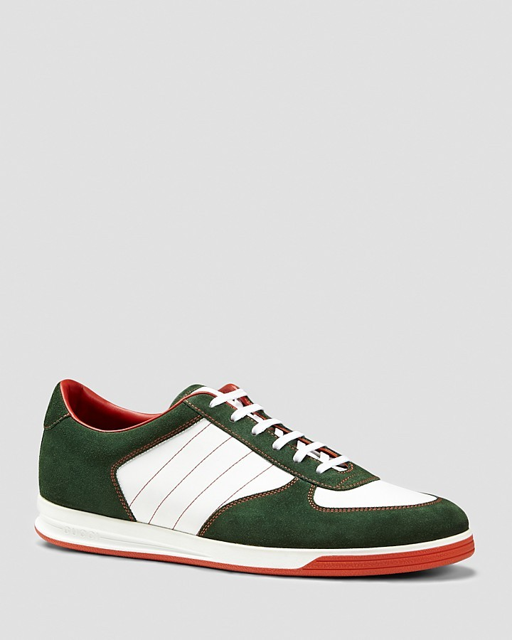 Gucci Tennis 84 Low Sneakers, $485