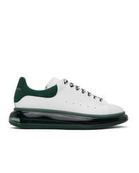 Alexander McQueen White And Green Oversized Sneakers