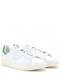 Raf Simons Adidas By Stan Smith Leather Sneakers