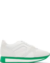 Burberry Prorsum Green White The Field Sneakers