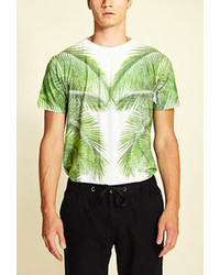 21men 21 Mirrored Botanical Tee