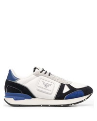 Emporio Armani Colour Block Logo Sneakers