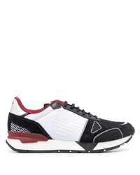 Emporio Armani Logo Colour Block Sneakers
