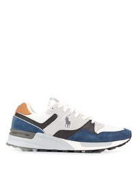 Polo Ralph Lauren Low Top Panelled Logo Sneakers