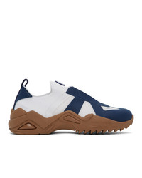 Maison Margiela White And Navy New Replica Sneakers