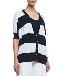 White and navy cardigan original 2935095
