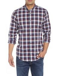 Nordstrom Men's Shop Tech Smart Regular Fit Check Sport Shirt