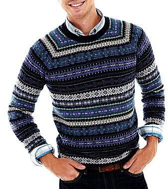 Haggar Fair Isle Sweater | Where to buy & how to wear