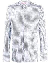 Tommy Hilfiger Floral Print Cotton Shirt