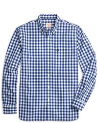 Brooks Brothers Large Gingham Sport Shirt