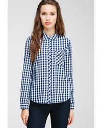 Forever 21 Gingham Patterned Shirt
