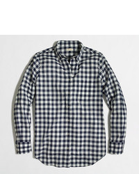 Navy check medium 204135