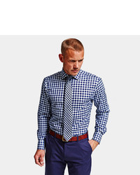 2a6fb368 Thomas Pink Plato Check Super Slim Fit Button Cuff Shirt, $195 ...