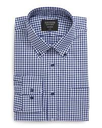 Nordstrom Men's Shop Trim Fit Non Iron Gingham Dress Shirt