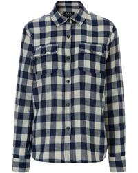 A.P.C. Two Tone Plaid Girl Shirt