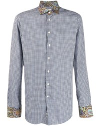 Etro Check Fitted Shirt