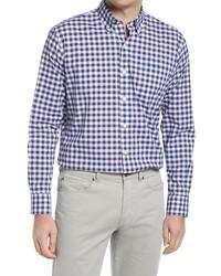 Peter Millar Crown Hudson Gingham Button Up Shirt