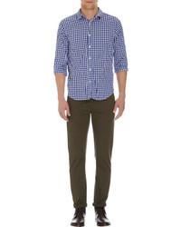 Gingham check shirt medium 25596