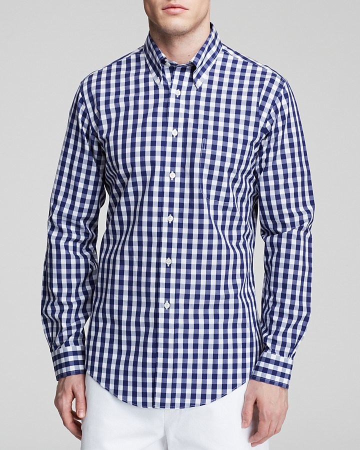 Checkered button down shirt south park t shirts for Brooks brothers boys shirts