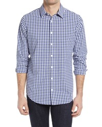 Mizzen+Main Leeward Stretch Check Button Up Shirt